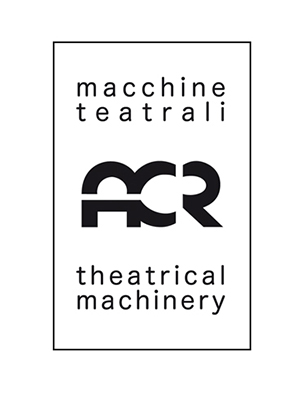 ACR theatrical machinery . brochure + restyling logo